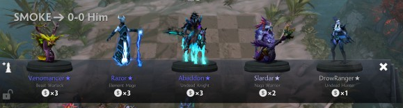 Dota Auto Chess Shop